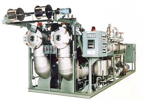 ラスタム型高圧液流染色機(2缶体方式)